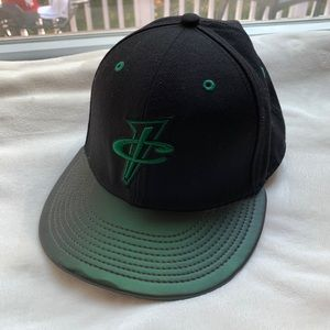 Nike Foamposite Pro Pine Green Fitted Hat